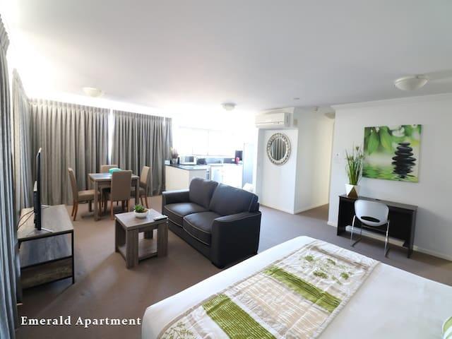 Emerald Apartment - Kangaroo Point - Résidence de tourisme