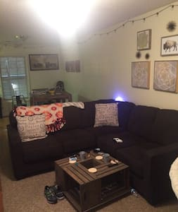 Large Living Room and 2 Piece Couch In Heart Of UA - Tuscaloosa