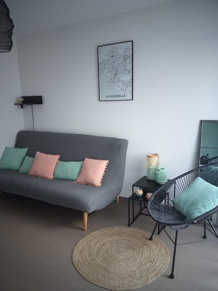 Agréable studio neuf  Les Minimes La Rochelle