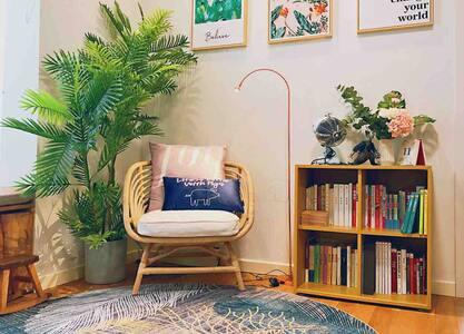 九溪烟树/西湖景区/设计师超美MUJI智能豪华两室套房