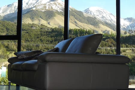 Kowhai Eco lodge in MtLyford, luxury accommodation