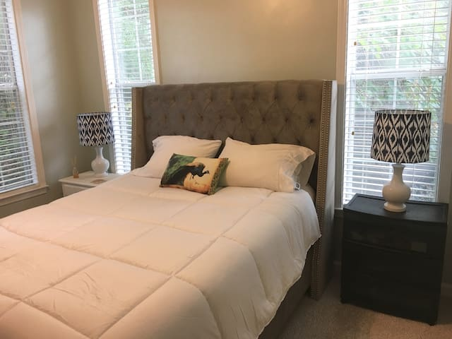 Cozy Condo With Memory Foam Mattress