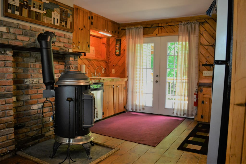 Welcome home!  Vermont craftsmanship at it's finest!  Lots of wood throughout gives this home a warm lodge feel.