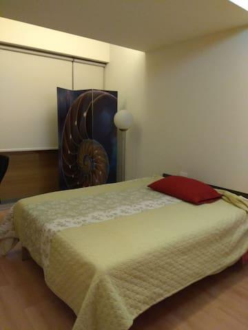 Espaciosa habitación, Ideal para descansar