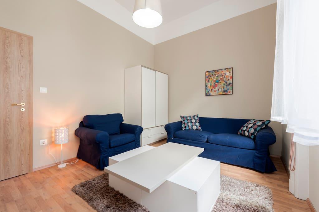 Bedroom 1 openable double sofa