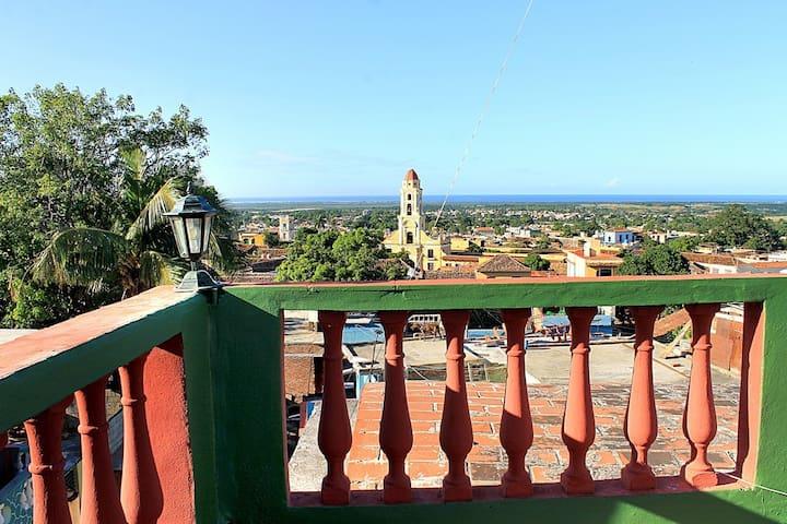 Hostal El Mirador, la Trinidad colonial a tus pies