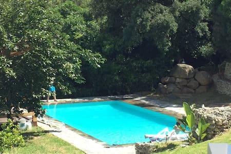 Stunning villa with pool & sea view - タリファ - 別荘