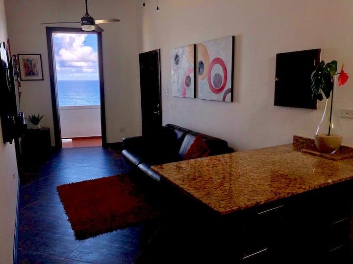 Old San Juan Apt with Exclusive Ocean View