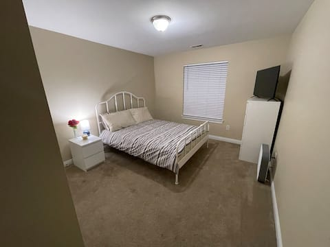Affordable But Comfortable Apartment Bedroom