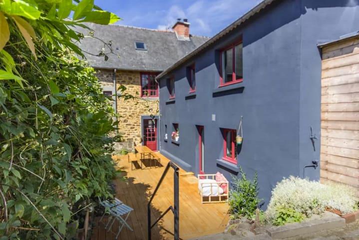 Maison familiale de charme - Hédé-Bazouges - Casa