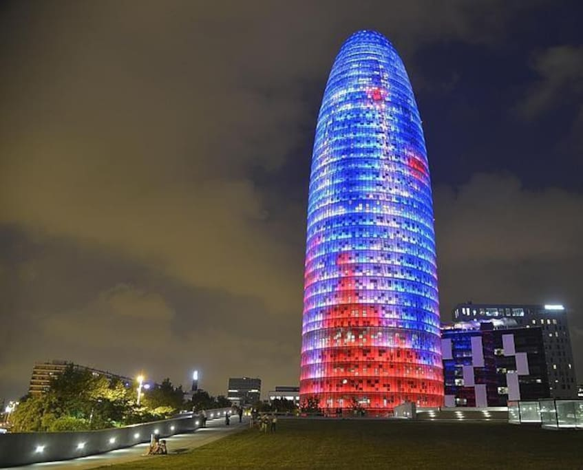 Near Torre Agbar