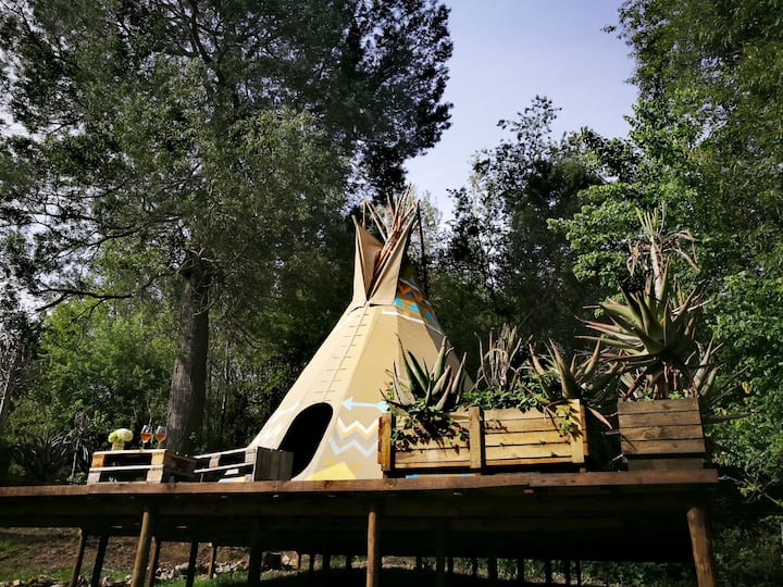 "Magical Teepee Experience! ""Air"" 3/4"