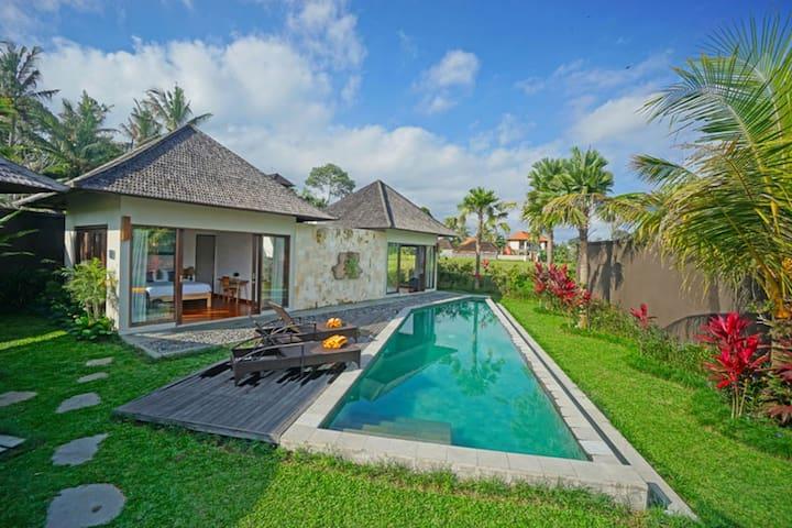 Nice 2BR Private Villa-Pool, View&Close to Center!