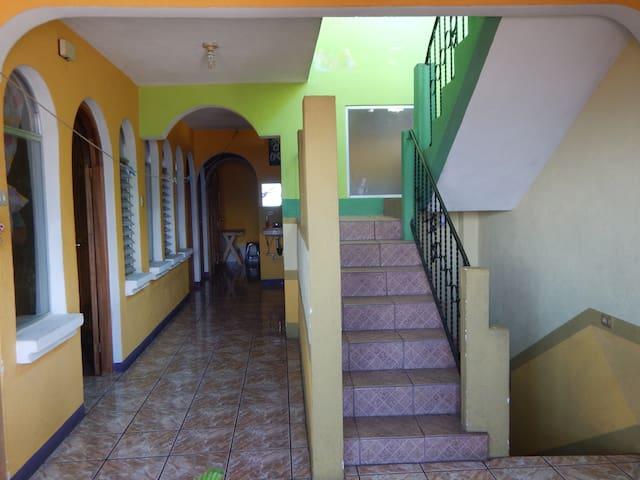 Espacio de las habitaciones 1, 2 y 3