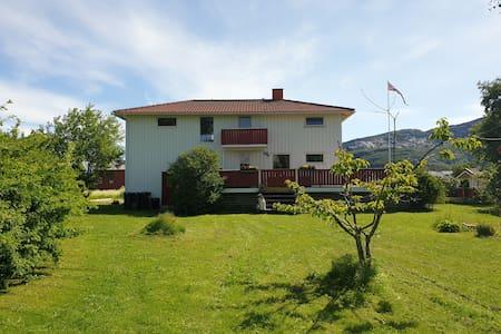 PolarRanch Sandhornøy- Klettern, Angeln, Hoftiere