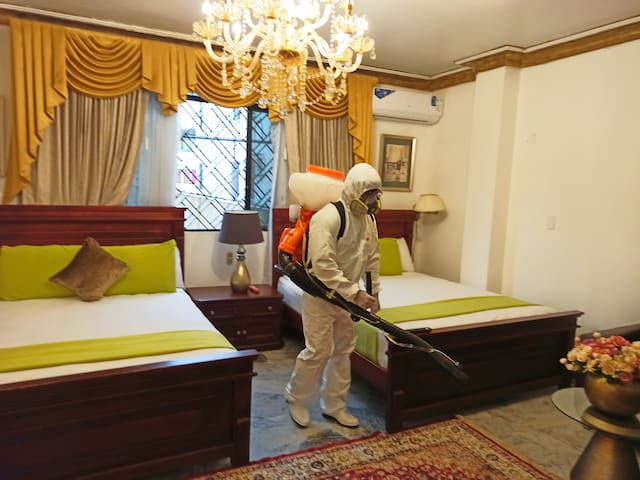 """""""SANITIZADO"""" DOUBLE ROOM  IN FRONT OF THE AIRPORT"""