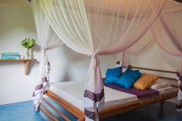 Vila Polivalente: Dois quartos e banheiro