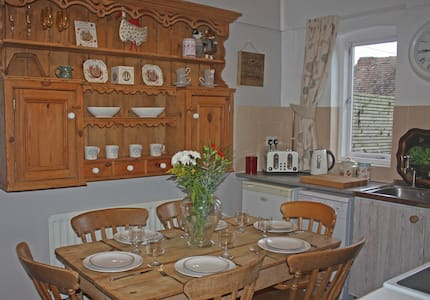 Traditional Farm Cottage with stunning views - Mickleton - Hus
