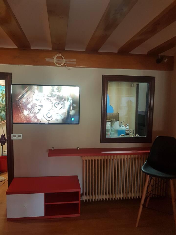 Habitación N°5 para Sanfermines hay baño compartir