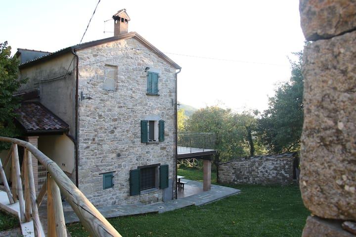 Antica casa di Moleto - Pennabilli - 公寓