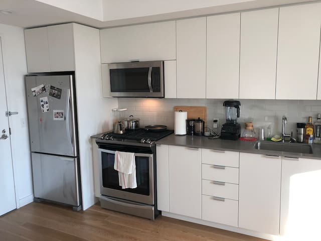 Bright 1BR in a new Prospect Heights high rise