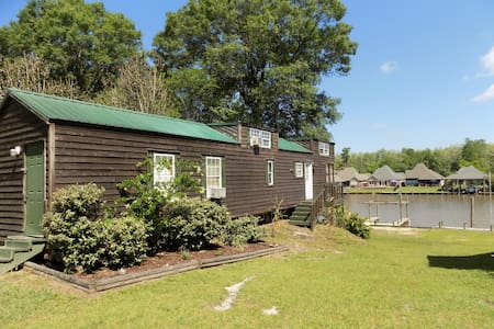 WATERFRONT CABIN BETWEEN BATON ROUGE & NEW ORLEANS - Saint Amant - Apartament