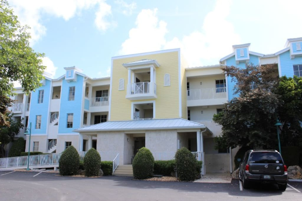 Front View of Condo Building