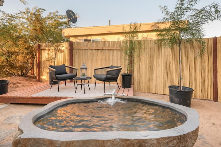 *Private Hot Springs* Palo Verde House
