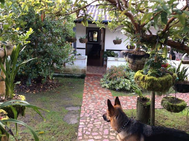 Casa de campo amantes de la naturaleza