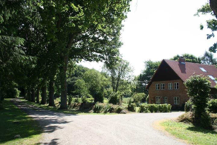 Sanierter Resthof Holsteinische Schweiz- Natur pur