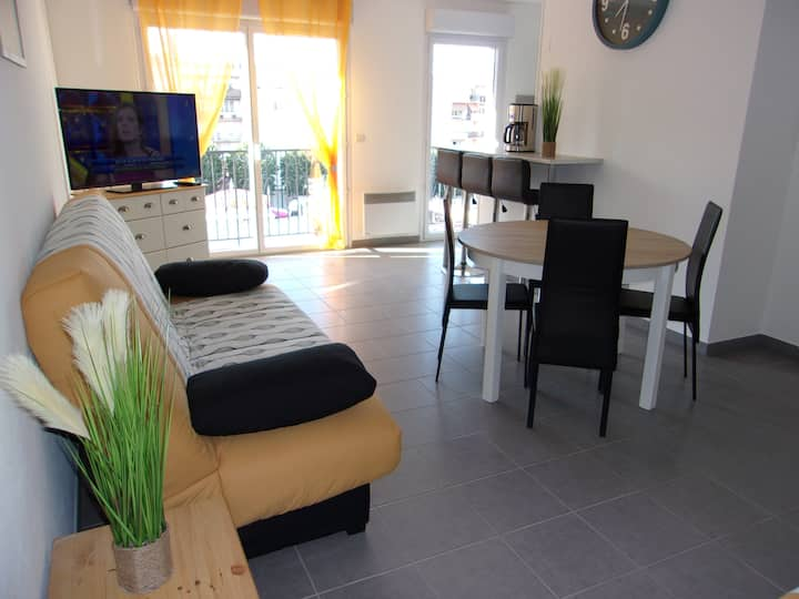 T2 neuf 50 m2 - 6 couchages