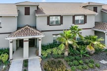 This town home is located on the fabulous ChampionsGate resort and just a hop-skip and-jump from the clubhouse and all of its amenities and facilities to enjoy on your family vacation to Orlando.