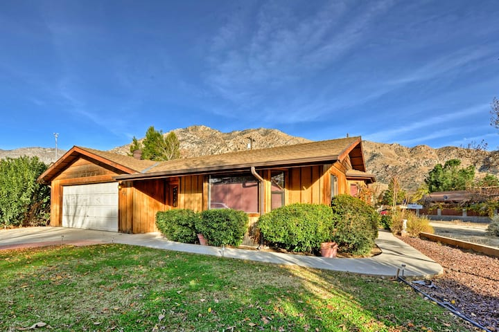 Kernville Home in Great Location w/ Views & Patio!