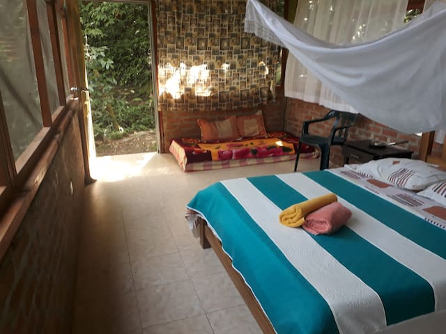Lovely Private Room in the forest of Minca