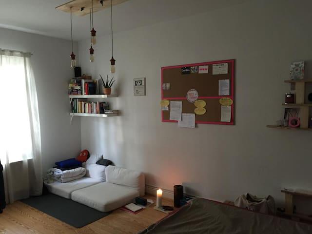 Zimmer in gemütlicher großen Wohnung