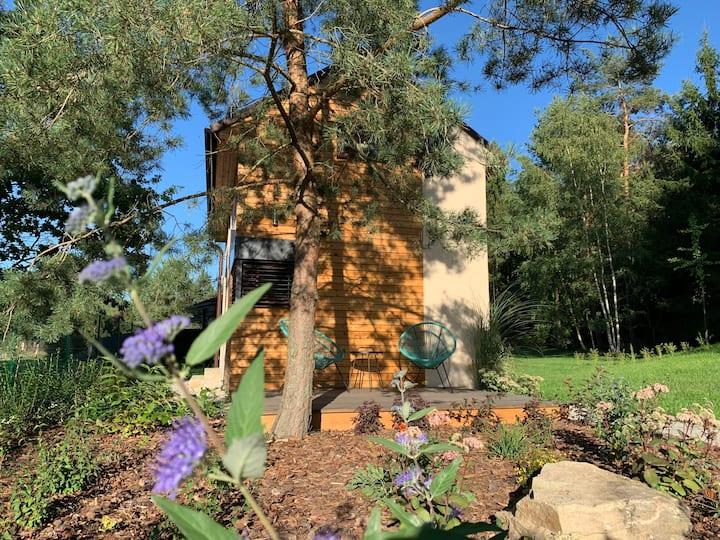 Cosy tiny house in minimalistic Scandinavian style