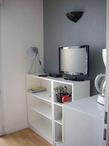 Studio meublé, La Rochelle - La Rochelle - Apartamento