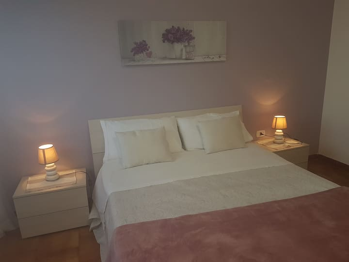 B&b room for 4 people near Pompei