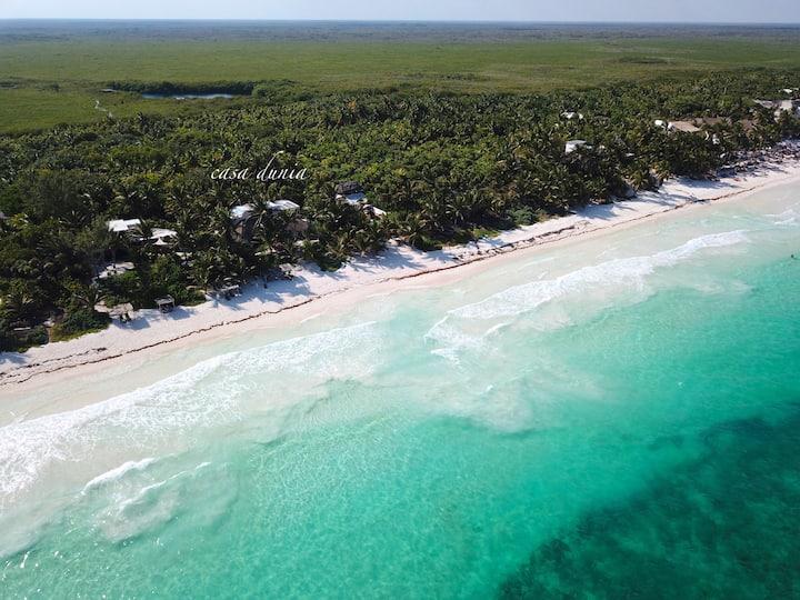 Private Beachfront Villa, Intimate and Accessible