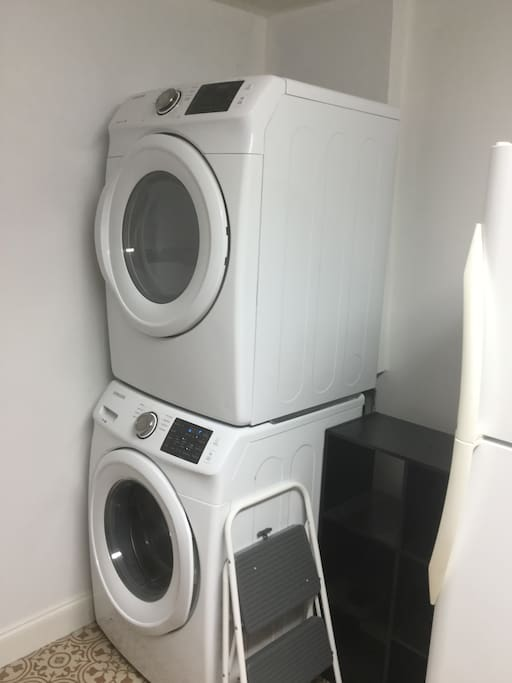 Laundry on site!