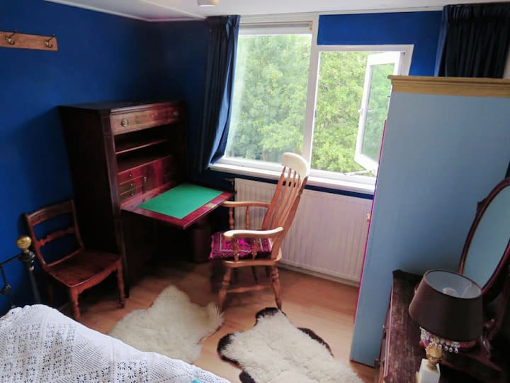 Study bedroom in shared apartment near University
