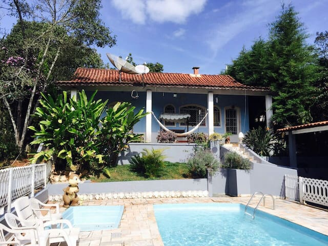 Rent room in nice farm calm place. - Mairiporã - Bed & Breakfast
