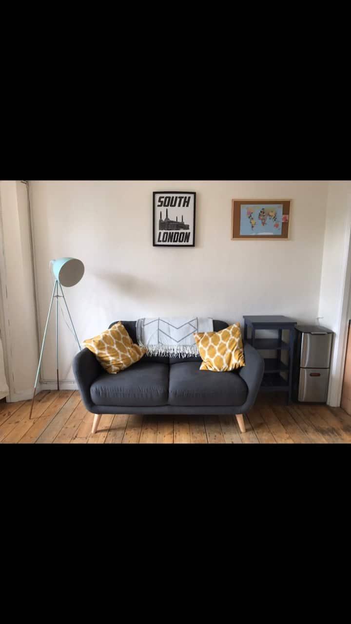 Studio Flat in Brixton, London