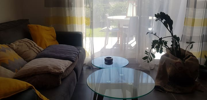 Centre Corse appartement tout confort avec jardin