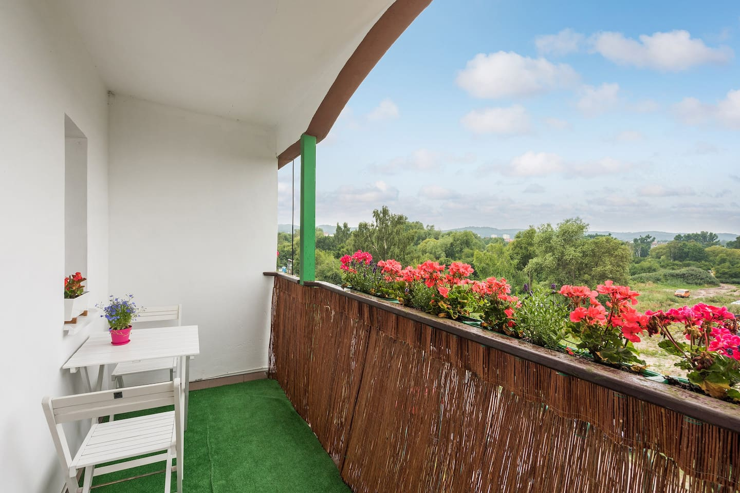Your terrace with beautiful view