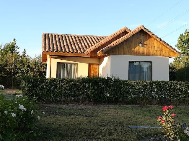 Habitación1 en cabaña ruta del Vino Valle de Maipo