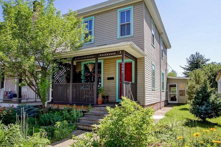 Small budget room in Old North Columbus - Колумбус - Дом