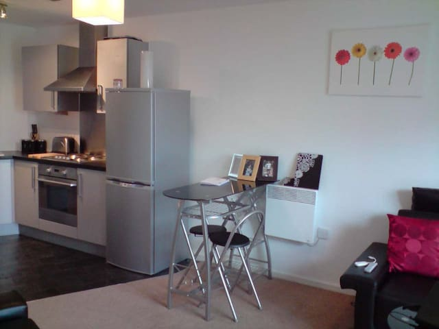 Modern 2 Bedroom Apartment Close to Centre