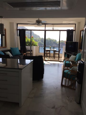 Ocean front condo newly furnished