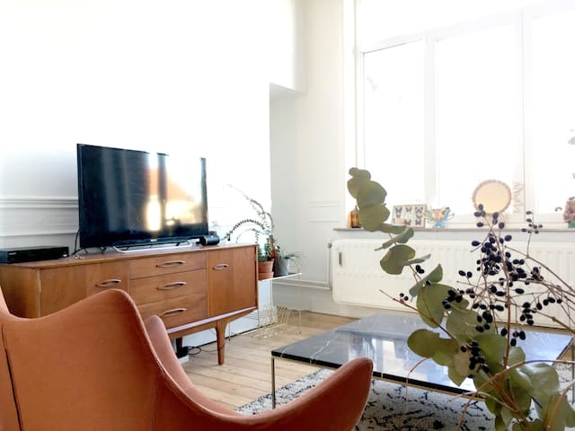 Sweet and Friendly flat - Ixelles - Appartement